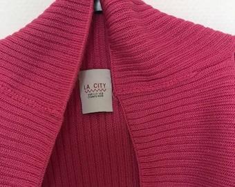 The city vest pink sleeveless size 1