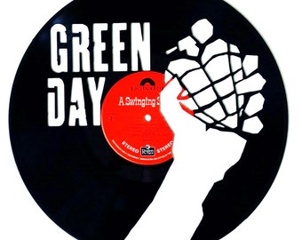 Greenday - Vinyl Record Art