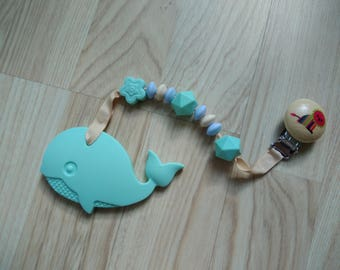 Silicone or wood baby teethers