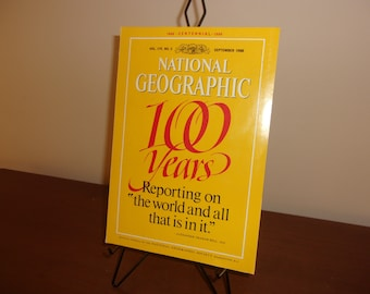 National Geographic Centennial Vol. 174 No. 3 - 1888 - 1988   The world and all that is in it