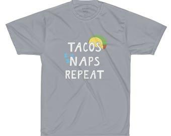 Tacos Naps Repeat - Performance T-Shirt