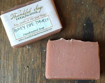 Honey Pipe Tobacco Soap