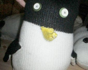 Black & White Giant Penguin - Yellow Beak