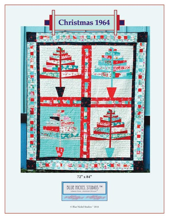 Christmas 1964 - An Urban Folk Pattern from Blue Nickel Studios - PDF Download