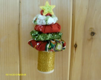 Little Yo Yo Tree Ornament