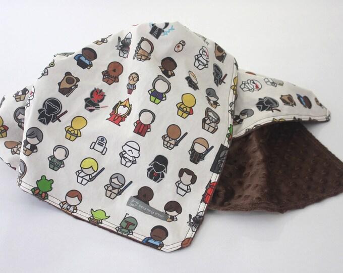 Star Wars Baby Blanket--A Chibi Galaxy Far, Far Away