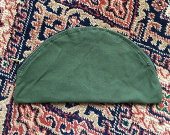 Purse made from upcycled military canvas