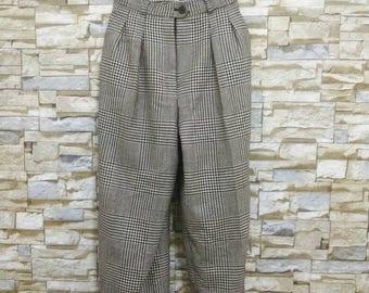 Vintage YSL Yves Saint Laurent Pants Wool Trousers