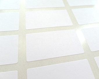 "Product Labels, Cosmetic Labels, Bottle Labels : 2.375"" x 1.25"" Set of 36"