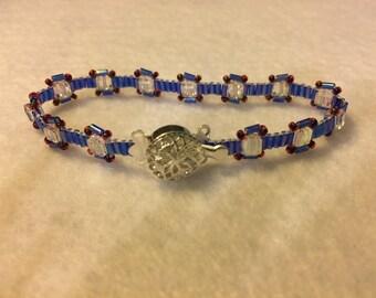 Crystal Square Bracelet