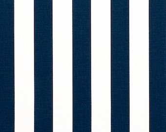 Custom Ironing Board Cover NAVY and White Canopy Stripe