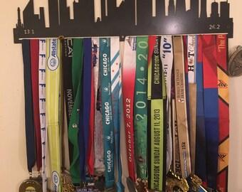 Chicago Skyline Medal Hanger