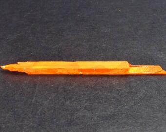 "Large Orange Crocoite Crystal From Australia - 2.4"""