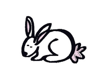 Easter Bunny Machine Embroidery Design, Easter embroidery design, Easter design, bunny embroidery pattern, Easter machine embroidery, rabbit