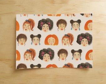 Lovely Ladies Postcard
