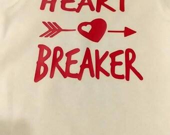 Heart Breaker Onesie Bodysuit