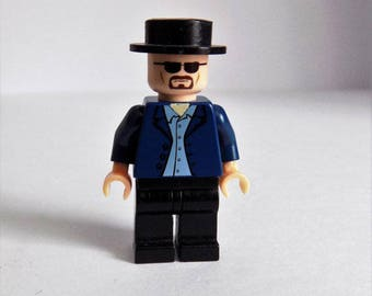 Walter White From Breaking Bad Custom Minifigure Made From Lego Parts