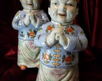 Vintage Asian Style Figurines
