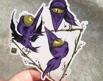 Dream Crow Stickers