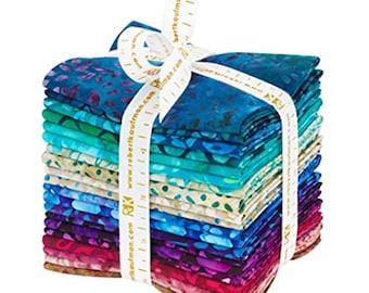 Lunn Studios - Artisan Batiks - Gemstones - Robert Kaufman - Fat Quarter Bundle