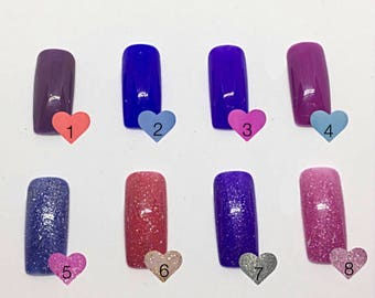 MOOD CHANGING COLOR // press on nails