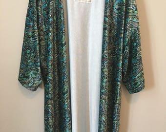 Into the Mystic Velvet Kimono