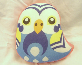 Pet Printed Plush - Budgie