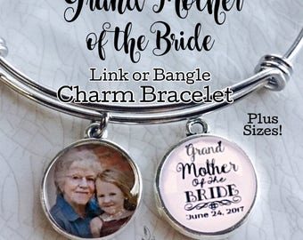 Grandmother of the Bride Gift, Grand Mother of the Groom, Gift for Grandma, Custom Wedding Gift, Grandmother Jewelry, Personalized