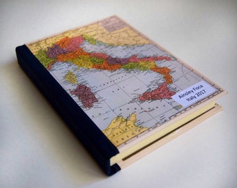 Italy Travel Journal with Pockets