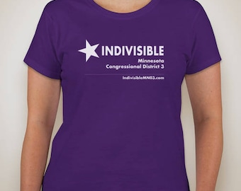 Women's purple Indivisible tee