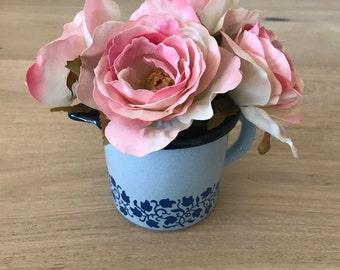 Vintage Pencil Holder or Flatware Holder or Vase