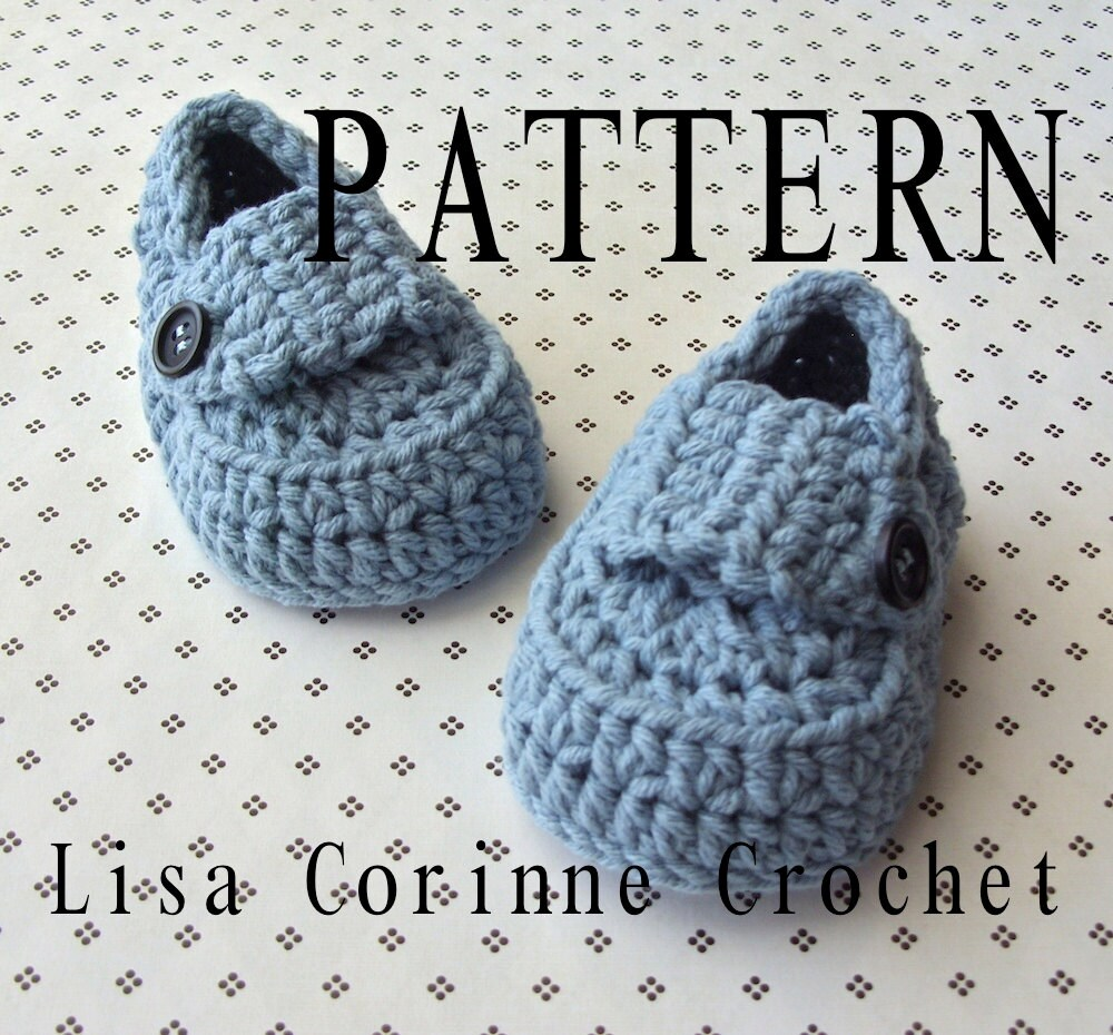 Baby booties crochet pattern baby loafers crochet booties zoom dt1010fo