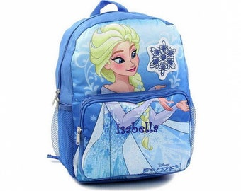 Personalized Frozen Backpack - 14 Inch