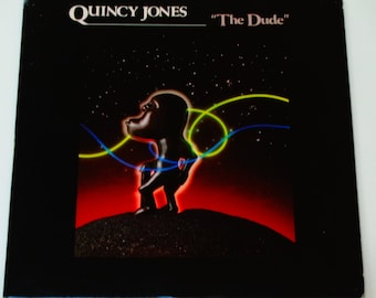 "Quincy Jones - The Dude - ""Just Once"" - ""One Hundred Ways"" - R&B - Jazz - Original Release A and M 1981 - Vintage Vinyl Lp Record Album"