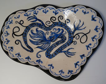 Blue Dragon Platter