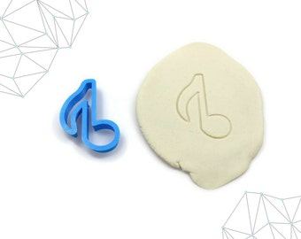 Music Note Cookie Cutter, Fondant Cutter, #241