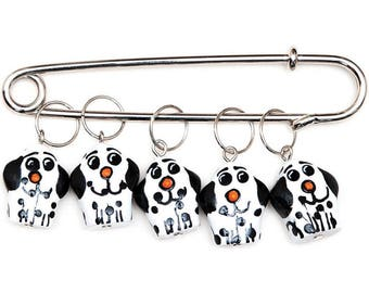 Puppy Stitch Markers