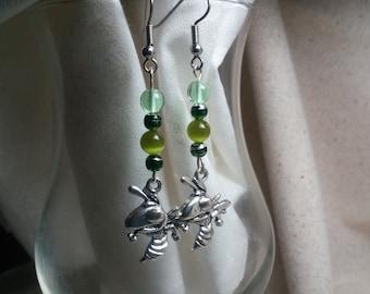 Mansfield hornets earrings 19