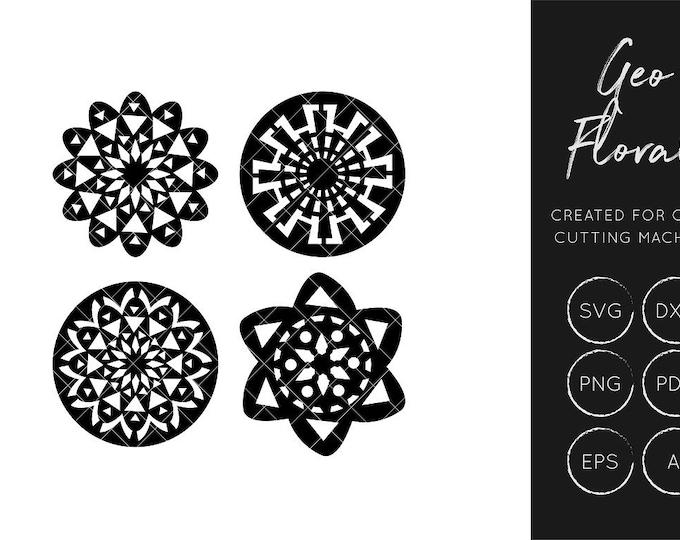 Floral SVG Cut File