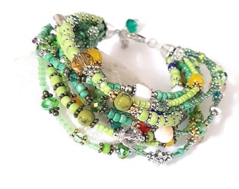 Green Jungle Bracelet