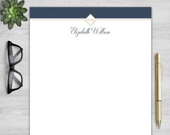 Letterhead Template for Word   Personalized Letterhead   DIY Custom Letterhead   Business Letterhead   DIY Stationary   Custom Stationary