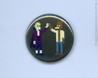 """Monster High Five 1"""" Pin-Back Button"""