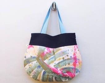 Anna Luna Brianna // Hand Painted Hobo Bag