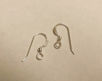 Sterling Silver Earwires upgrade