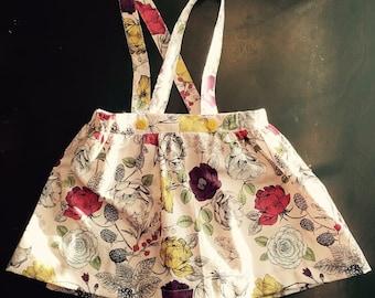 Keely Suspender Skirt