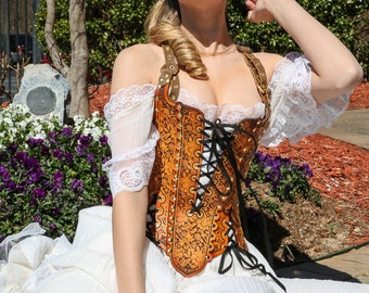 18th Century-inspired corset