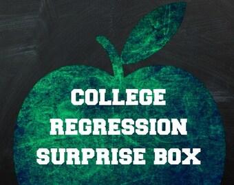 College Regression Surprise Box