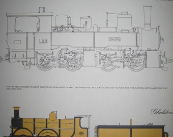 Double Print of Trains