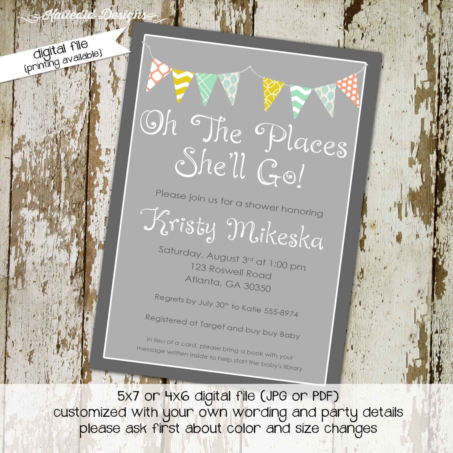 oh the places you\'ll go travel theme Adventure Awaits baby shower ...
