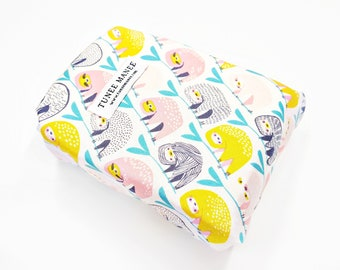 Sloth Reusable Food Wrap, Zero Waste Sandwich Wrap, Eco Friendly Sandwich Bags, Snack Bags, Work Lunch Bag, Cute Sloth Gifts for Women